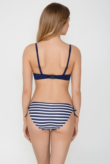 Infinity Lingerie Indigo Solid Asuncion Swimsuit