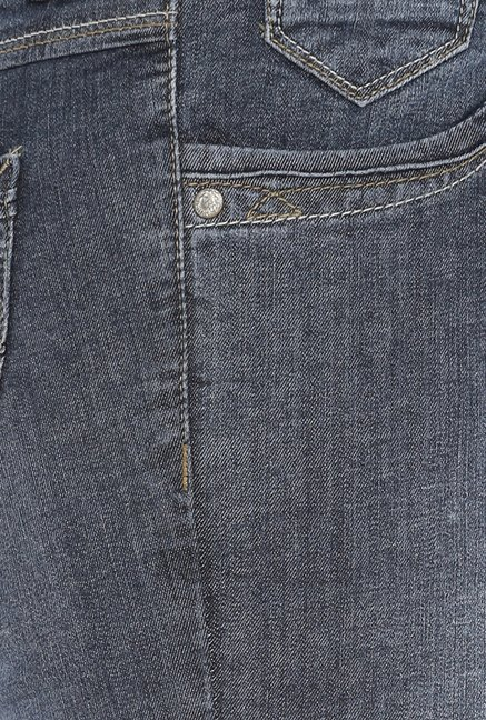 Kraus Blue Lightly Washed Jeans
