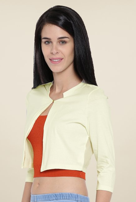 Kraus Cream Solid Shrug