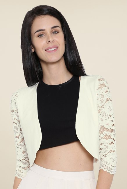 Kraus White Solid Shrug