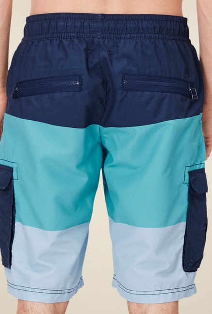 s.Oliver Multicolor Solid Shorts