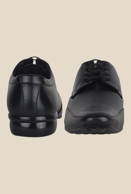 Kielz Black Derby Shoes