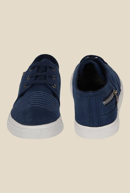 Kielz Navy & White Sneakers