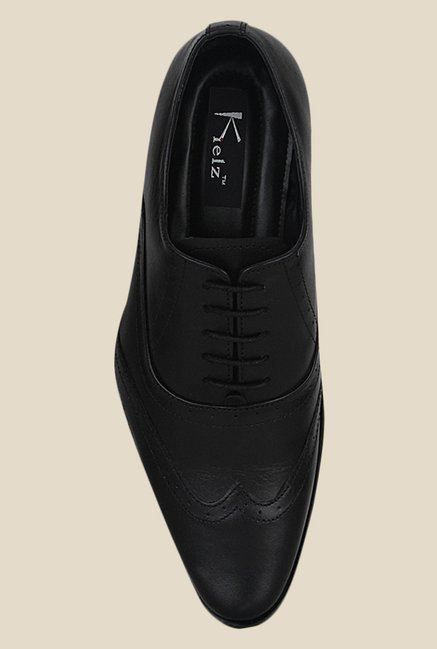 Kielz Black Oxford Shoes