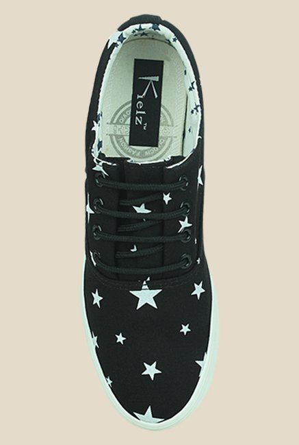 Kielz Black & White Sneakers