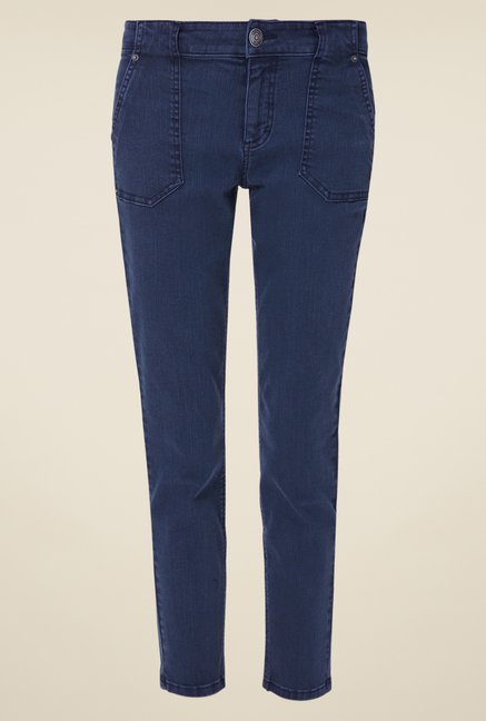 s.Oliver Blue Raw Denim Jeans