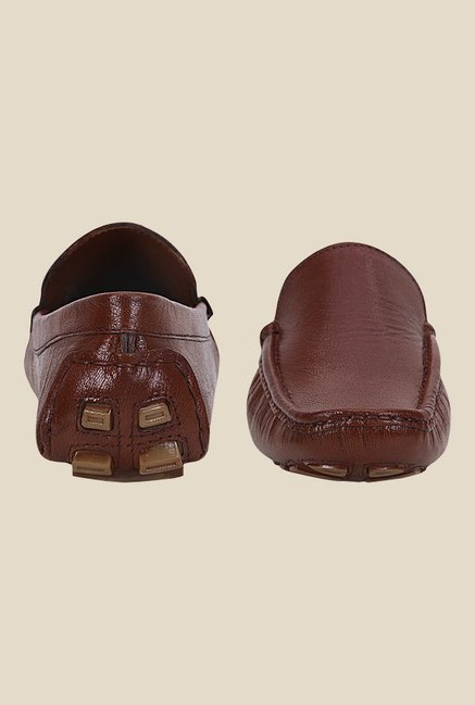 Kielz Tan Casual Loafers