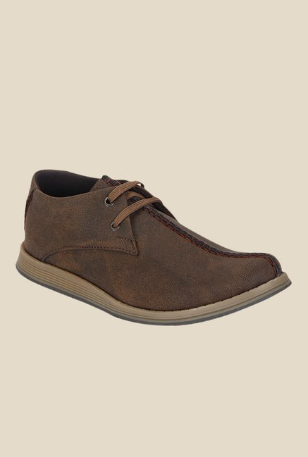 Kielz Tan Casual Shoes