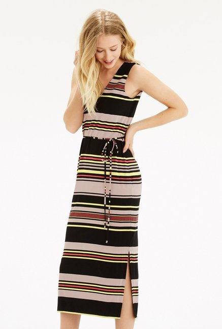 Oasis Multicolor Striped Dress