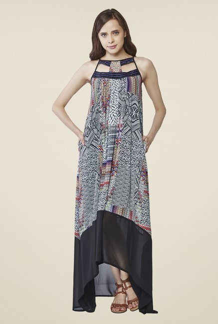 AND Multicolor Printed Dress