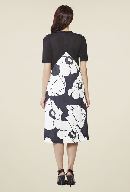 AND Black Printed Dress