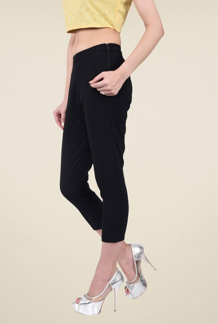 Juniper Black Solid Pants