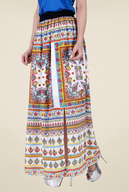 Juniper Multicolor Printed Skirt