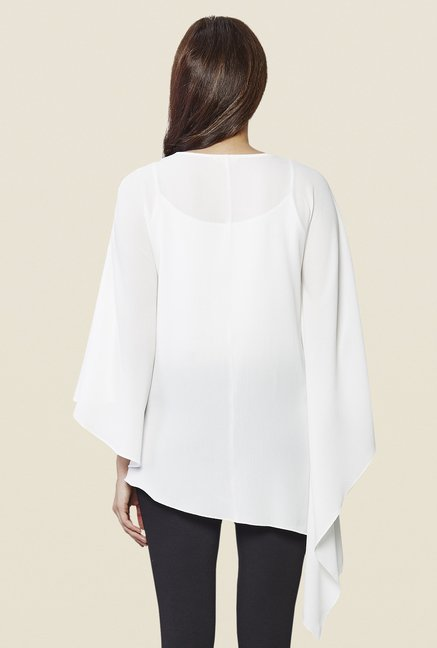 AND White Solid Top