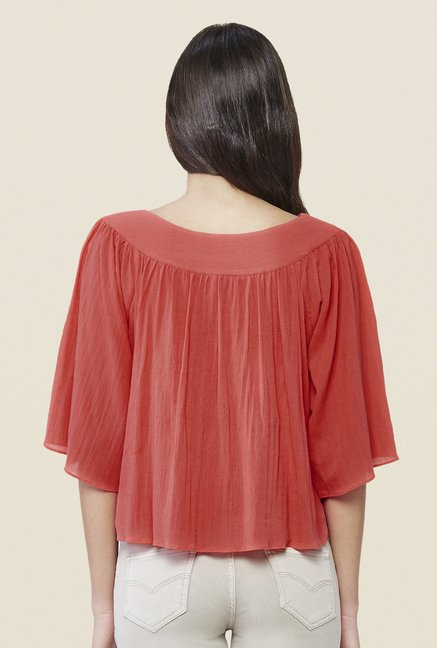 AND Coral Solid Top