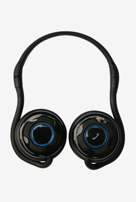 Amson Bluetooth Stereo Headset with Back Hang Style (Black)