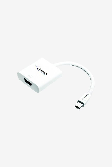 Nextech NA12 Mini Display Port to HDMI Adapter Cable (White)