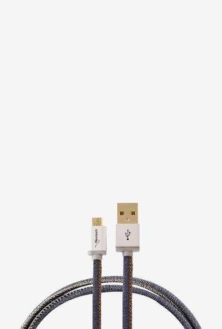 Nextech NC59DB Micro Sync and Charge Cable (White)
