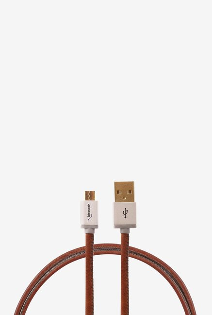 Nextech NC59GB Micro Sync and Charge Cable (Brown)
