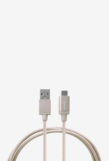 Nextech NC70GL USB 2.0 Type-C Sync and Charge Cable (Silver)