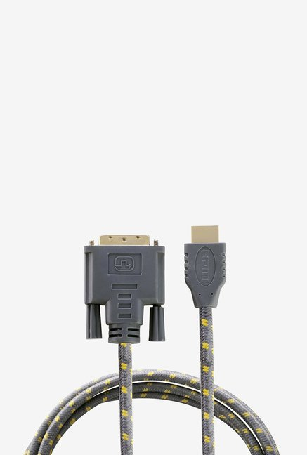 Nextech NC94 DVI to HDMI Braided Cable (Grey)