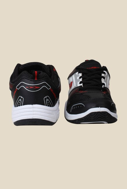Columbus Tab-8 Black & White Running Shoes