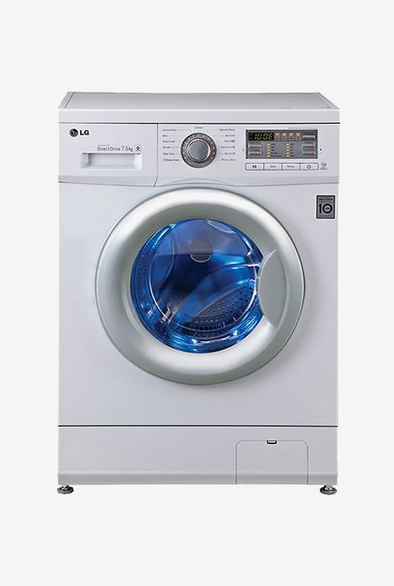 LG FH0B8EDL21 7.5 kg Front Load Washing Machine (White)