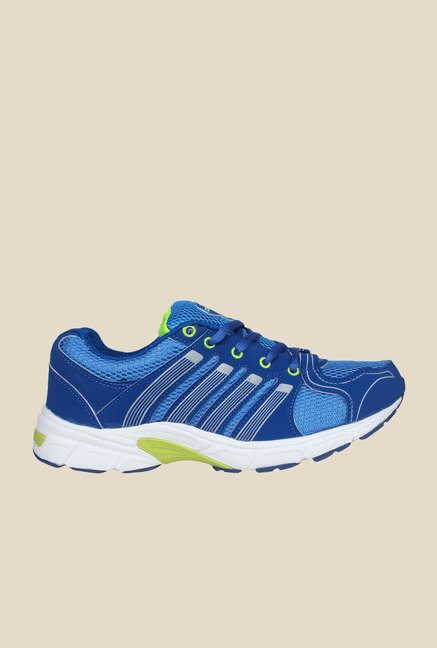 Columbus Shooter Royal Blue & Green Training Shoes