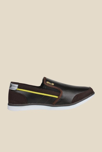 Columbus Gilbert Dark Brown Slip-Ons