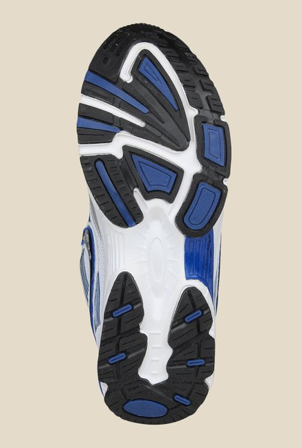 Columbus LD-006 White & Royal Blue Training Shoes
