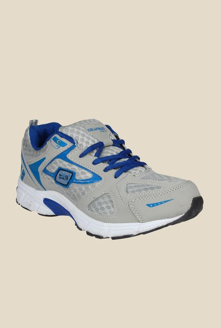 Columbus LD-007 Grey & Blue Training Shoes