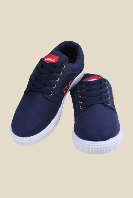 Columbus Canvas-1 Navy Sneakers
