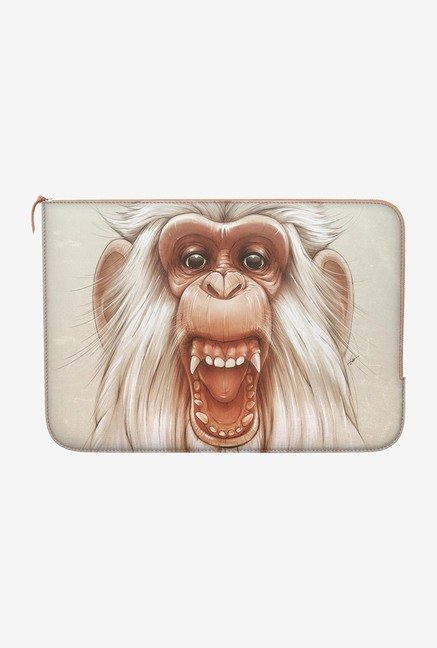 "DailyObjects Twam Monkey Macbook Air 13"" Zippered Sleeve"