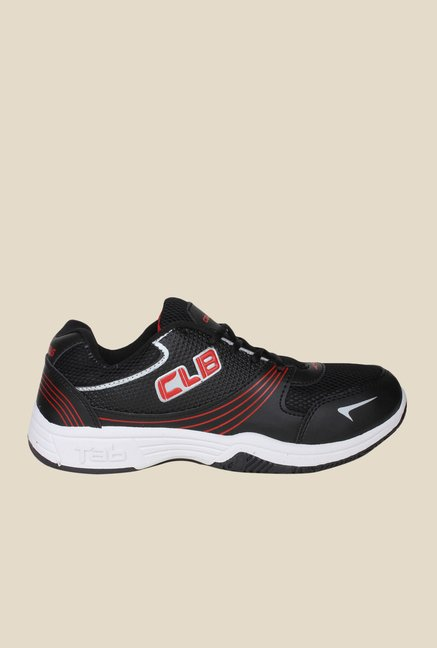 Columbus Tab-15 Black & Red Running Shoes