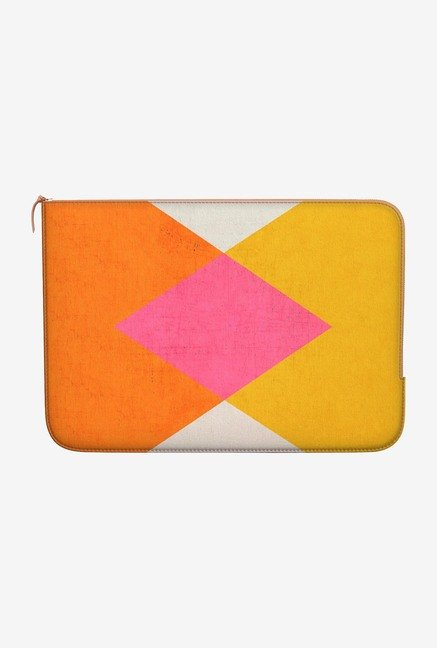 "DailyObjects Triangle Summer Macbook Air 13"" Zippered Sleeve"