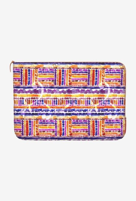 "DailyObjects Tribal Macbook Pro 13"" Zippered Sleeve"