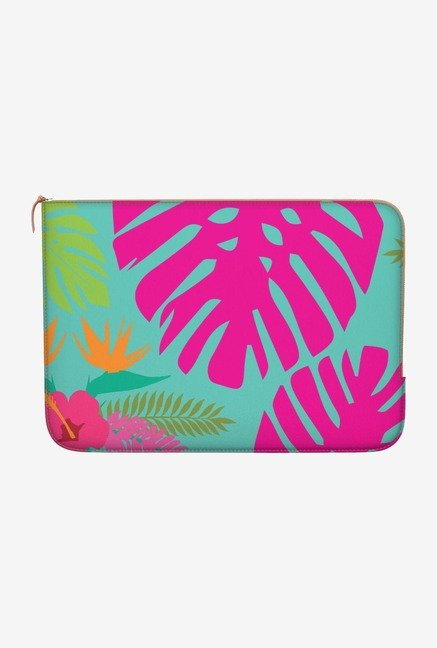 "DailyObjects Tropical Bright Macbook Air 13"" Zippered Sleeve"