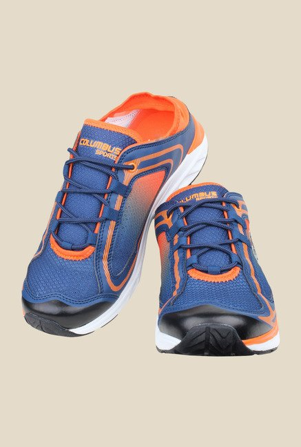 Columbus Daniels Navy & Orange Training Shoes