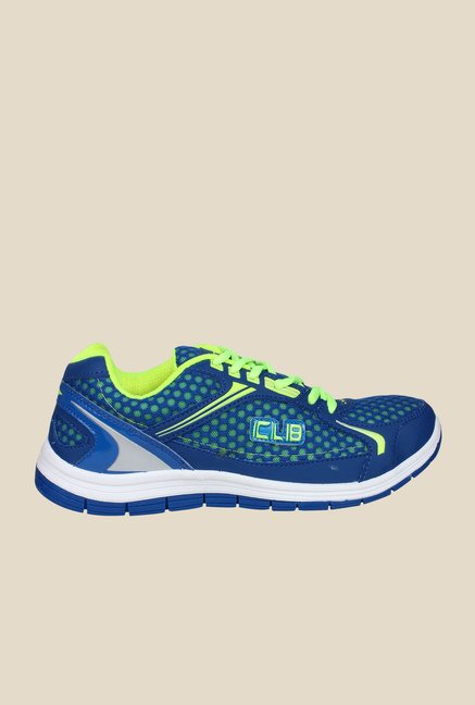 Columbus FM-8 Blue & Green Running Shoes