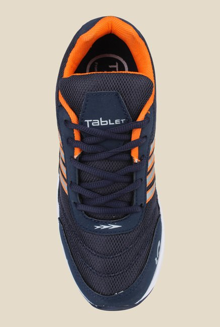 Columbus TB-2 Navy & Orange Running Shoes