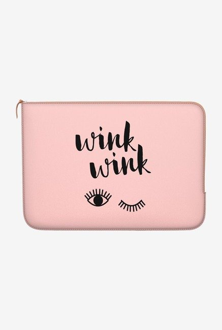 "DailyObjects Wink Wink Macbook Air 11"" Zippered Sleeve"