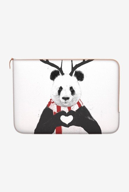 "DailyObjects Xmas Panda Macbook Air 11"" Zippered Sleeve"