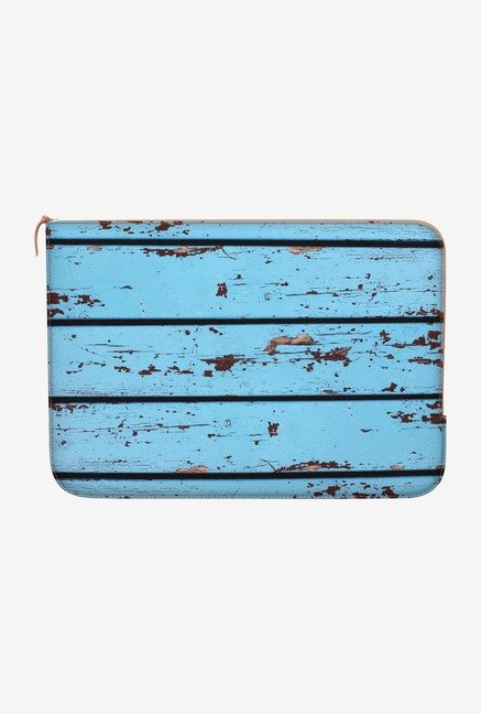"DailyObjects Wooden Planks Macbook Air 13"" Zippered Sleeve"