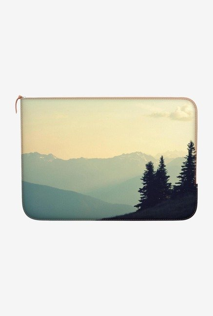 "DailyObjects World Landscape Macbook 12"" Zippered Sleeve"
