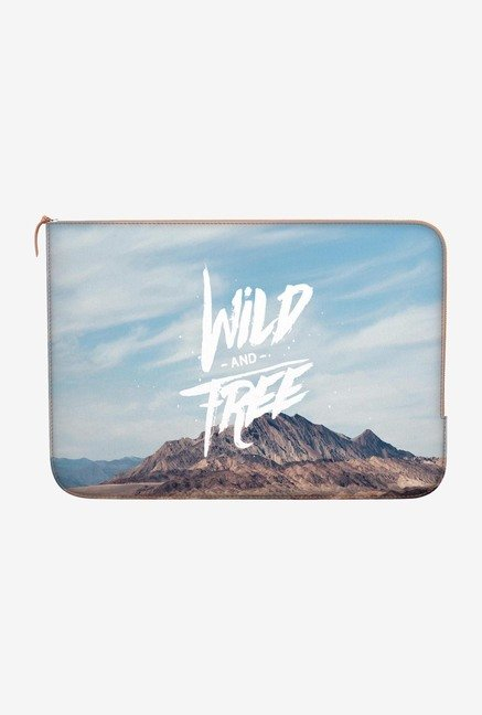 "DailyObjects Wild Free Macbook 12"" Zippered Sleeve"