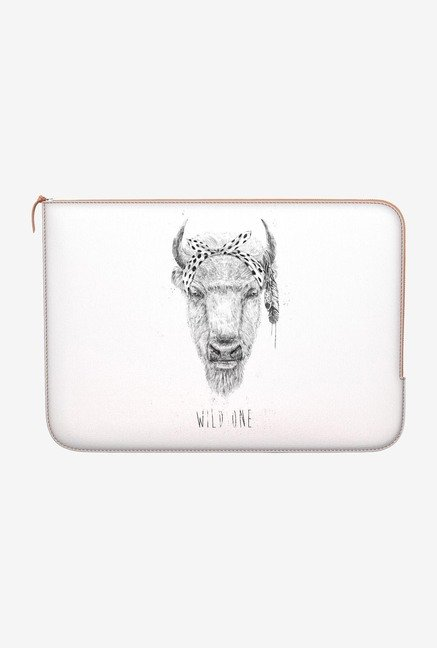 "DailyObjects Wild One Macbook Pro 13"" Zippered Sleeve"