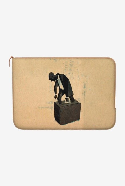 DailyObjects Too Much Baggage MacBook 12 Zippered Sleeve