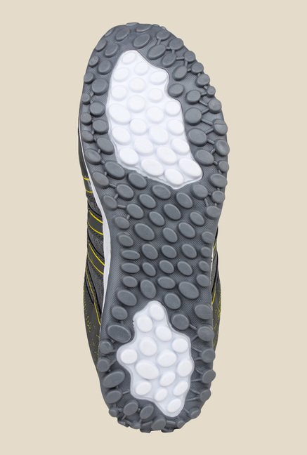 Columbus TR-8 Grey & Lemon Running Shoes