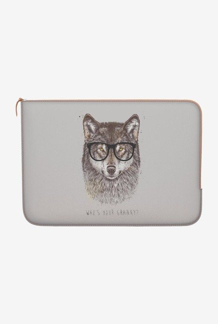 "DailyObjects Your Granny Macbook Pro 13"" Zippered Sleeve"