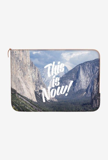 "DailyObjects This Is Now Macbook Pro 15"" Zippered Sleeve"